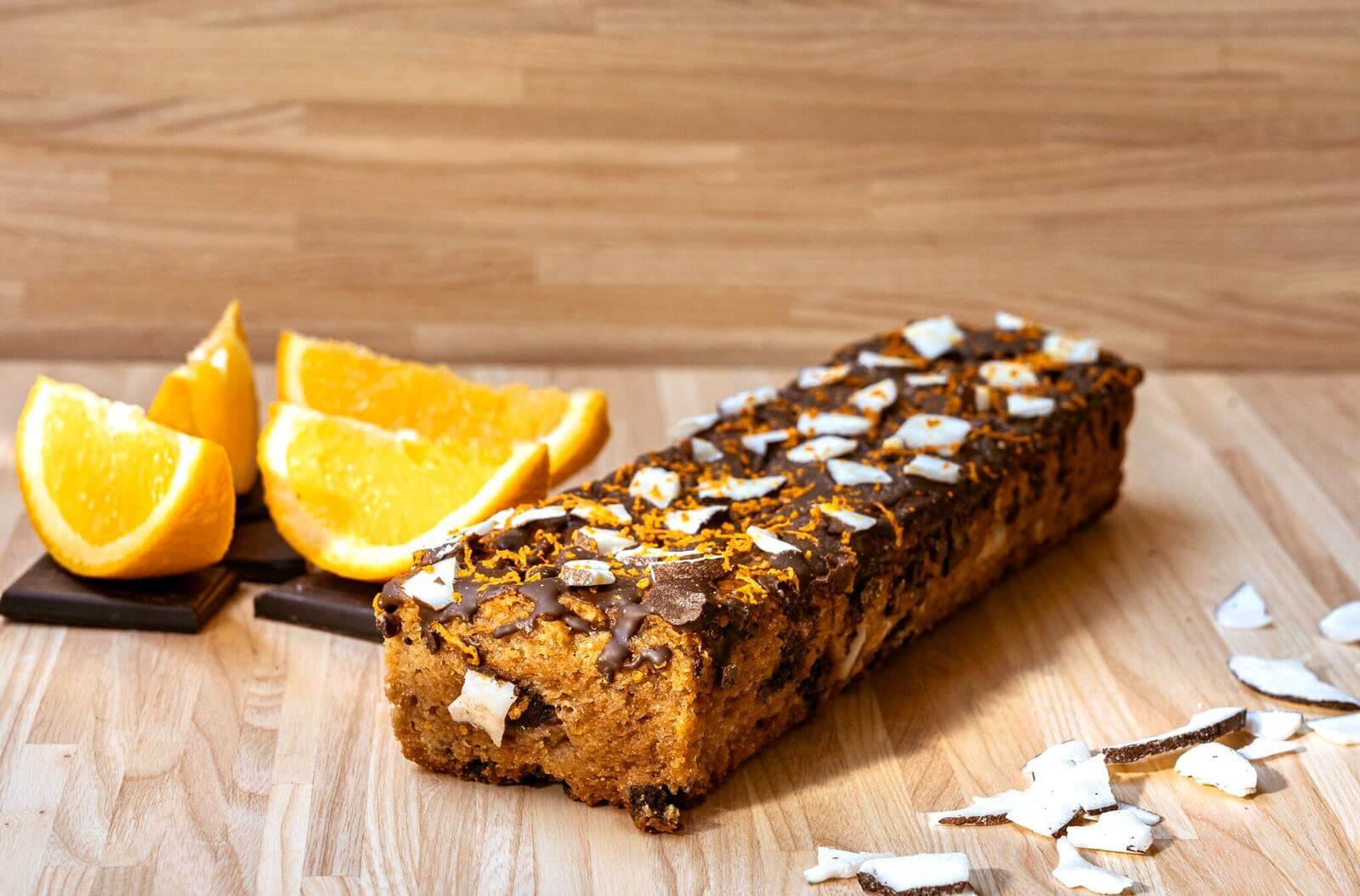 שני דייזי דנה/ עוגה בחושה תפוז קוקוס ושוקולד מריר